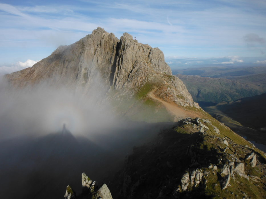 A Brocken Spectre On The Snowdon Horseshoe Landscape