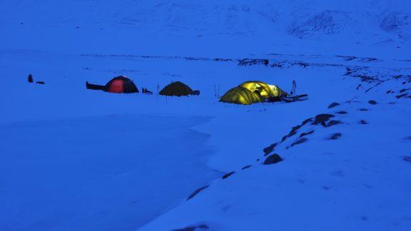 Polar campsite