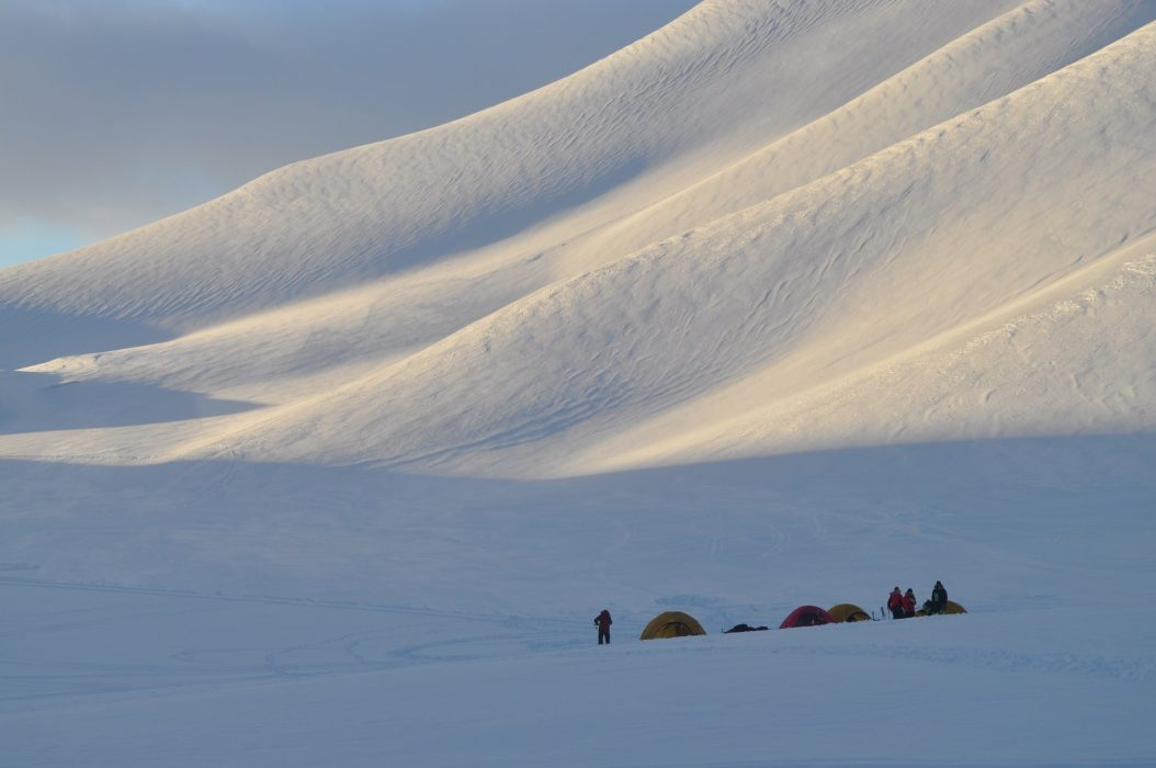 Lost in the grandeur of the lower alpine regions of Spitsbergen