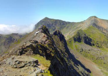 The Snowdon Horseshoe With Crib Goch Garnedd Ugain Snowdon And Bwlch Y Saethau