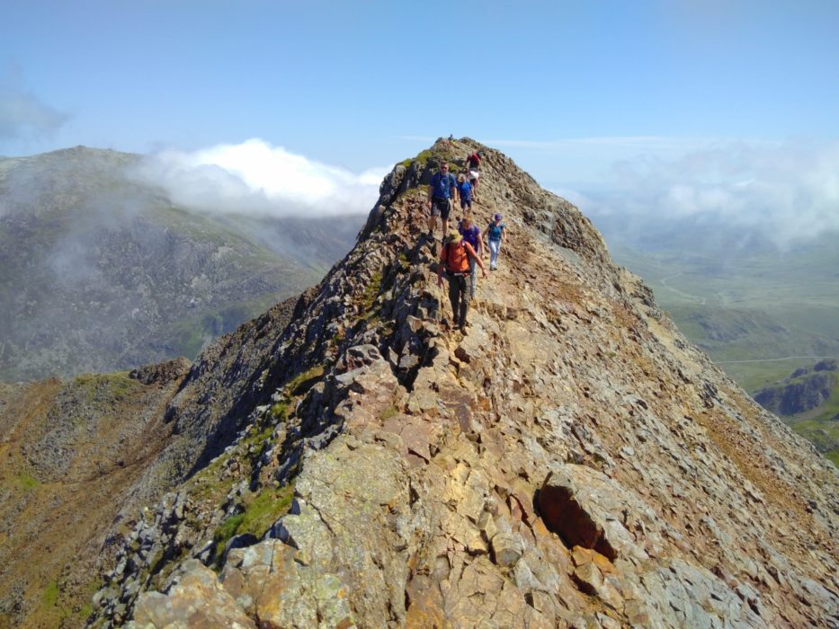 The Crib Goch Traverse