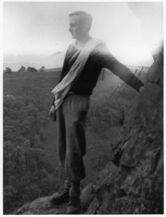 Walt Unsworth Early Climbing