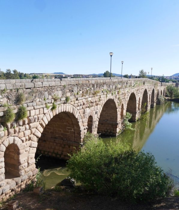 The Worlds Longest Roman Bridge At Merida