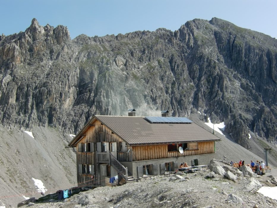 The Totalp Hut