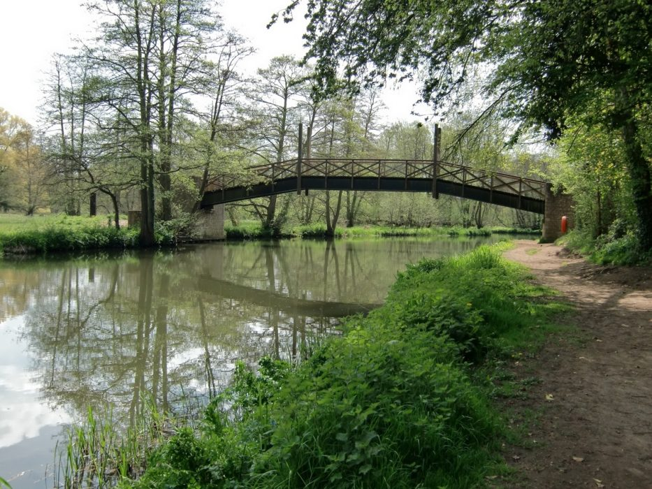 No motorways here: The River Wey flows along the southern edge of Guildford
