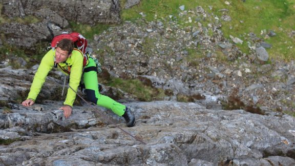 East arete At Idwal One Of The Routes That Was Too Hard To Make The Cut