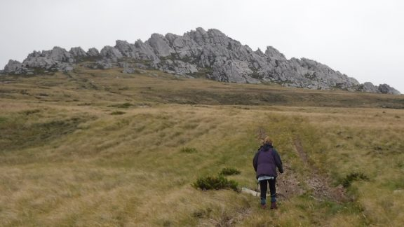 Mt Tumbledown Overlooking Stanley Was The Scene Of Fierce Fighting In The Final Days Of The War