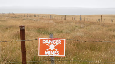 21 Old Minefields Are Well Marked And Fenced Off