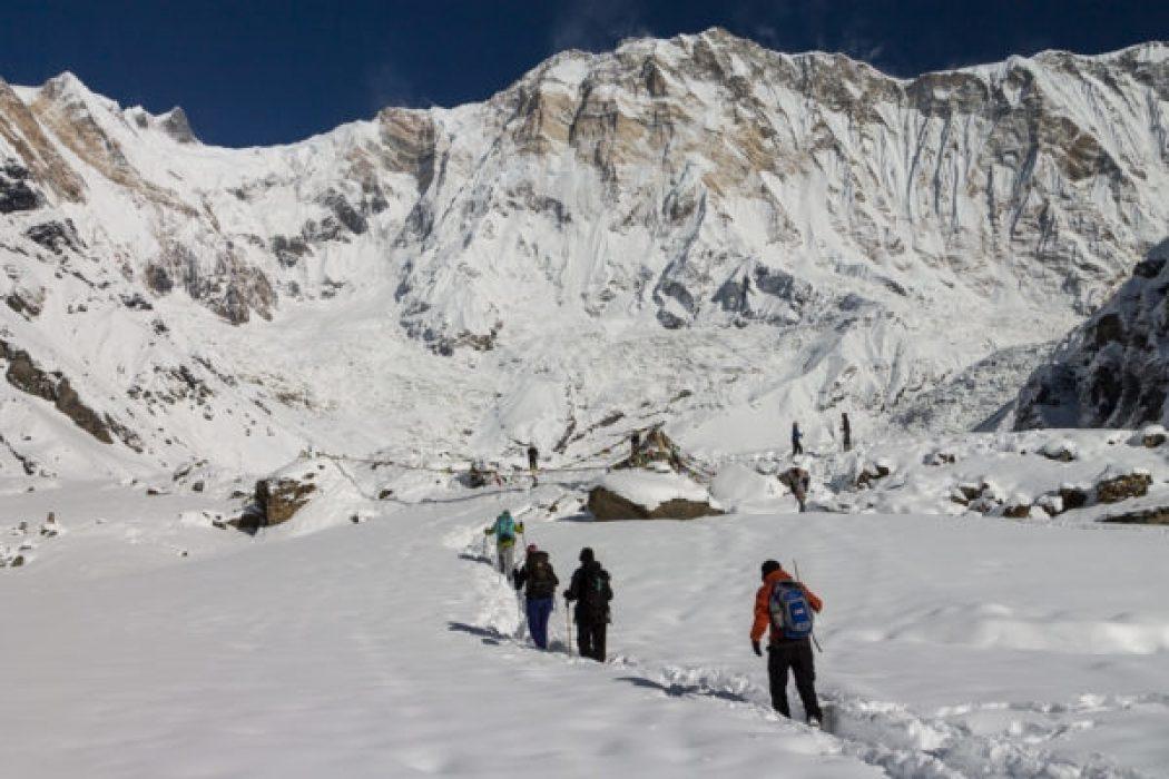 South Face Of Annapurna