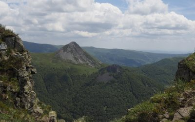 The Shapely Volcanic Cone Of Puy Griou 1690M In The Monts Du Cantal 600X450