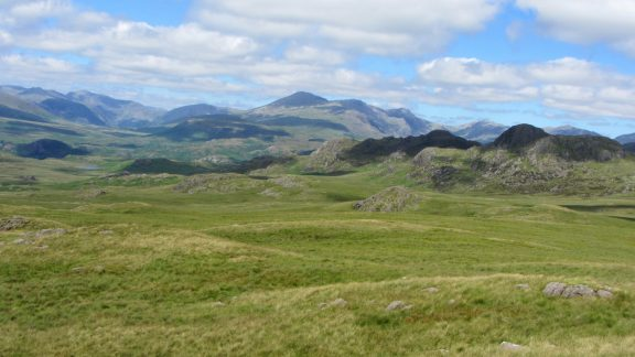 06 Green Crag And The Western Fells From Great Worm Crag Birker Fell