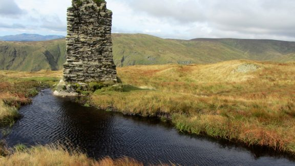 05B Survey Column On Tarn Crag Longsleddale