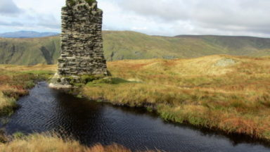 Survey Column Tarn Cragg