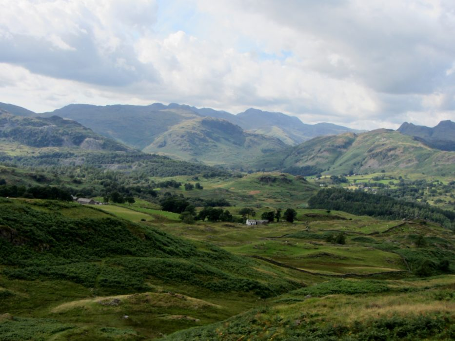 16 Towards Langdale From Black Fell