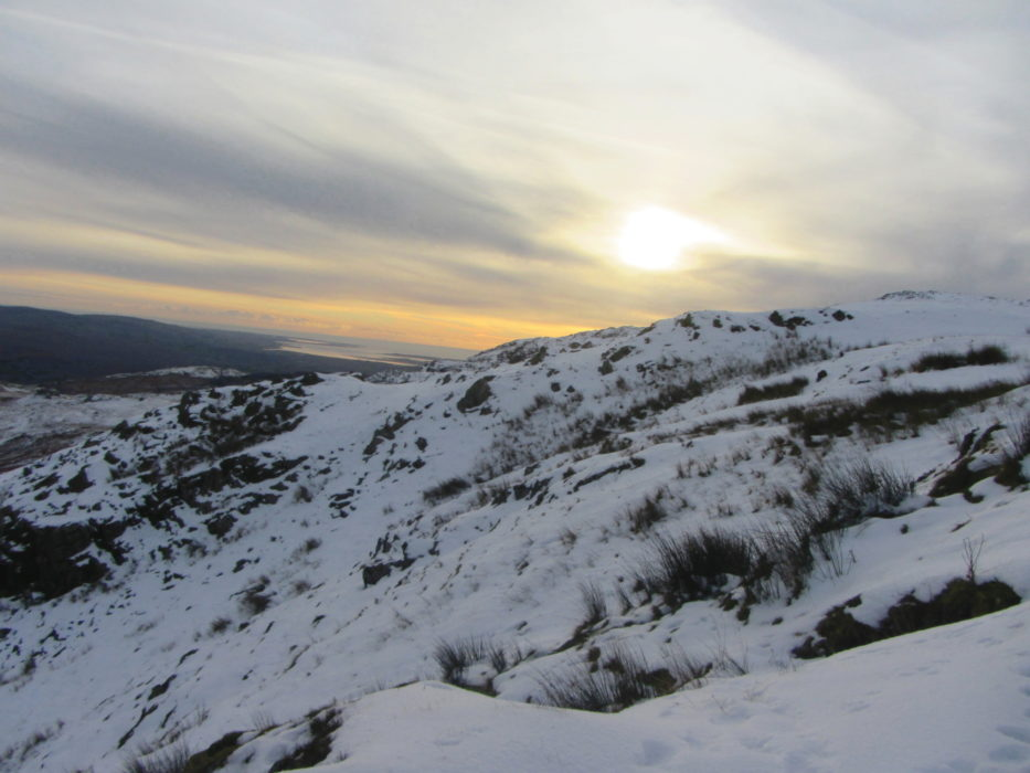 23 Sunset From Walna Scar