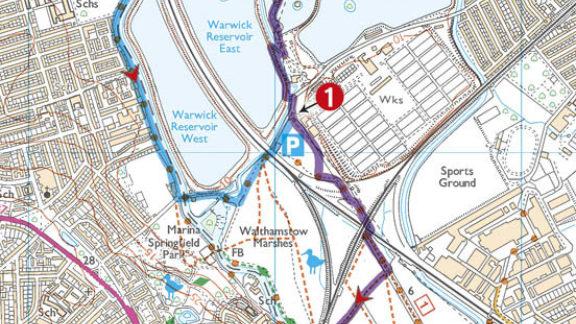 Walking In London Sample Route