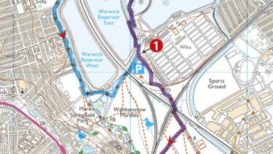 Walking In London Sample Route