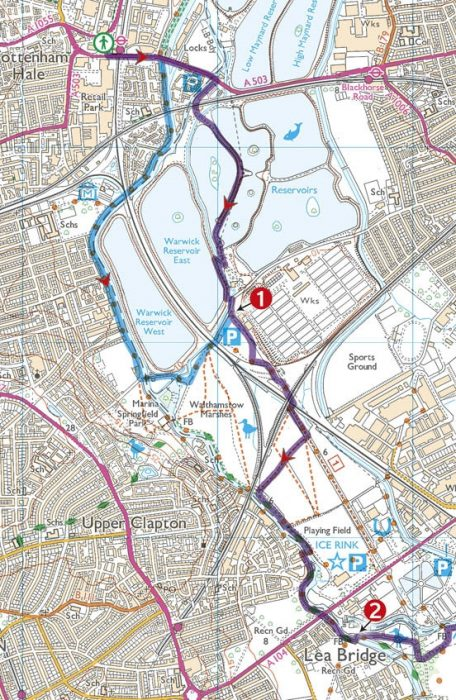 Walking In London Sample Route Cicerone Guide