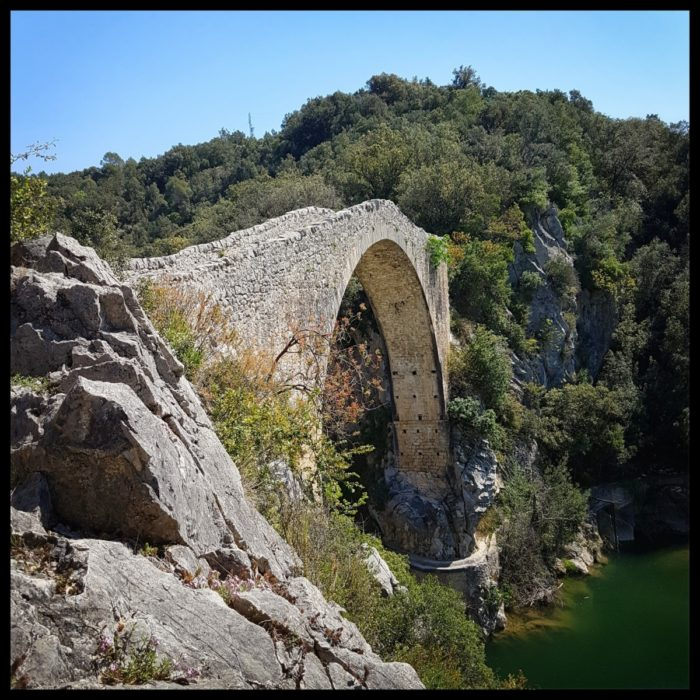 Day 4 View Of The Llierca Bridge