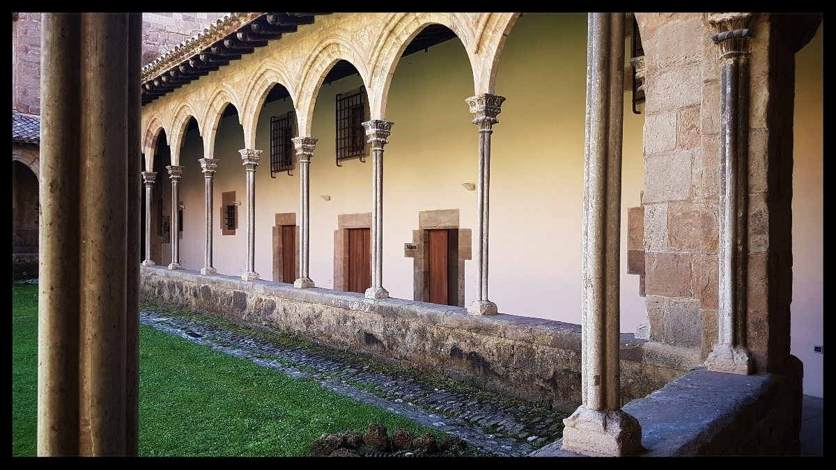 Day 6 Cloister At Sant Joan De Les Abadesses