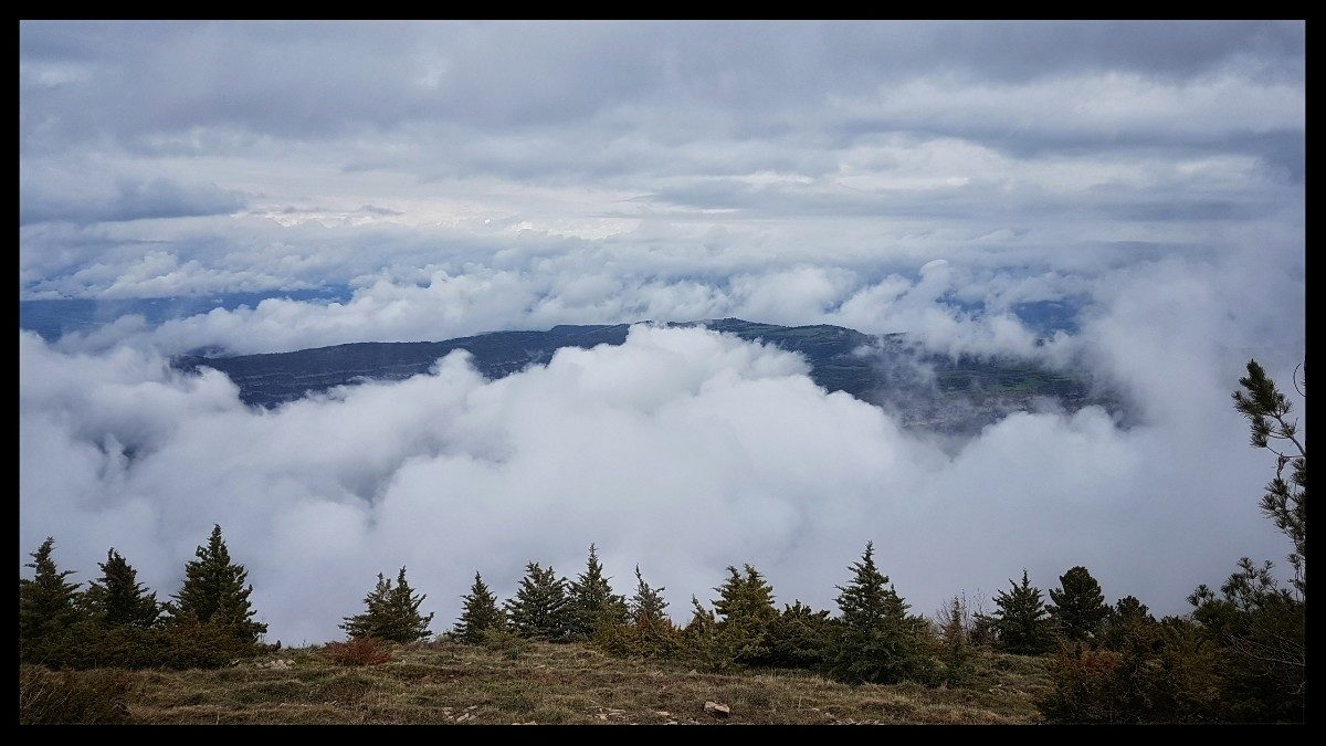 Day 16 In Between Cloud Layers In The Serre Del Montsec Range