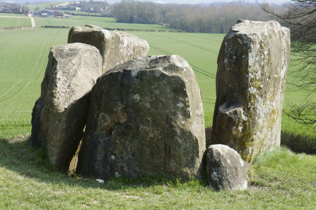 The Coldrum Stones Remains Of A Neolithic Burial Chamber