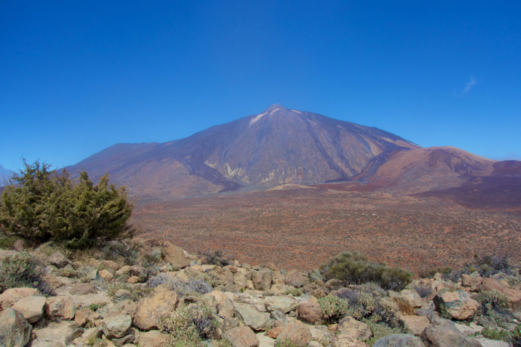 The mighty El Teide