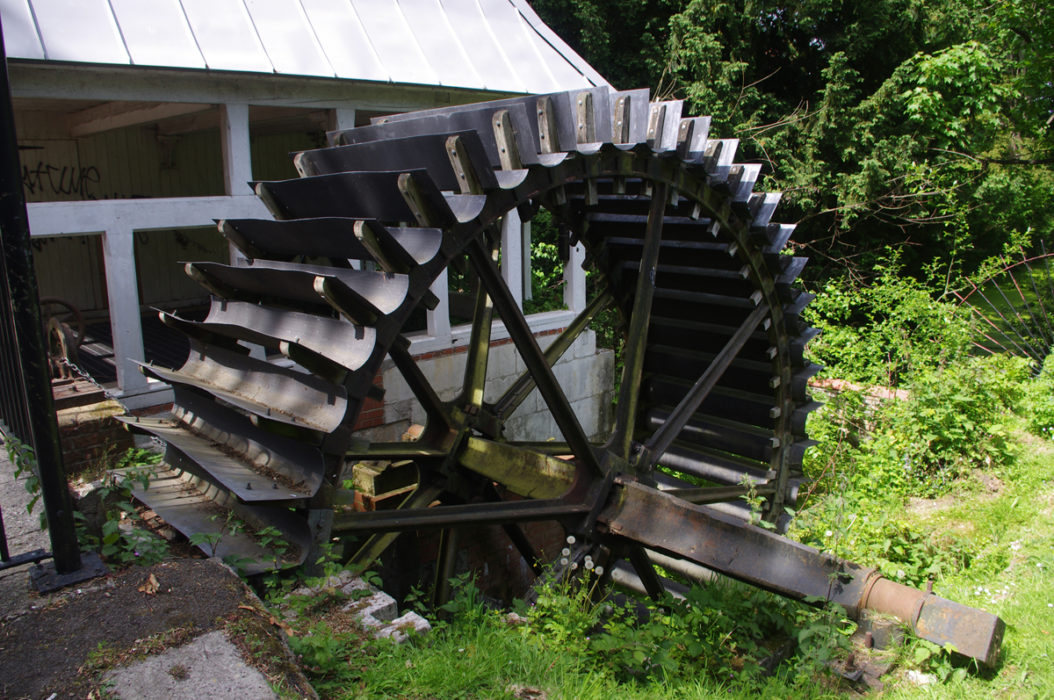 Water Wheels Such As This In Carshalton Once Powered Industry On The Wandle