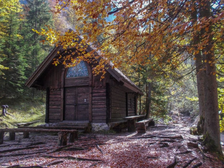 A Tiny Chapel Hidden In The Middle Of The Forest
