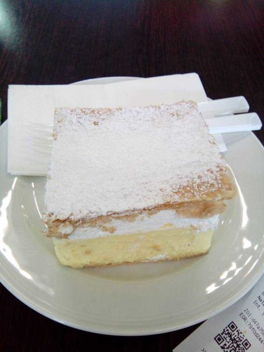 Bled's Famous Cream Cake