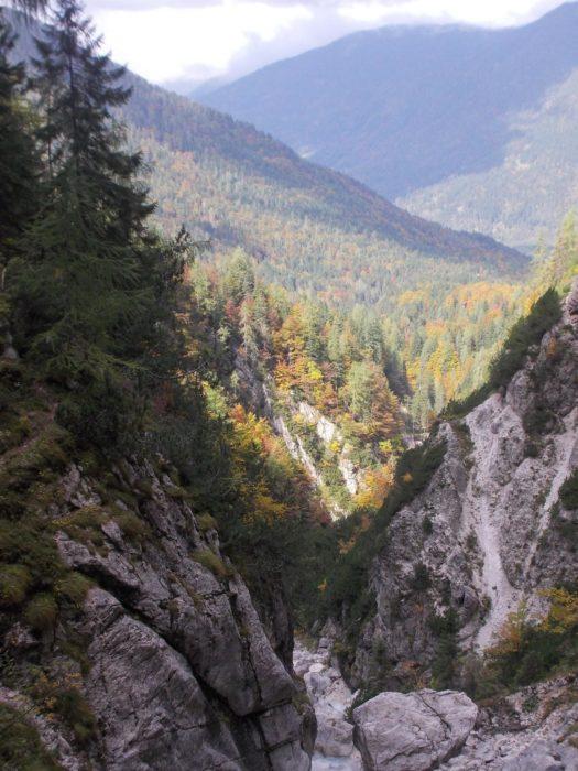 The Martuljek Gorge