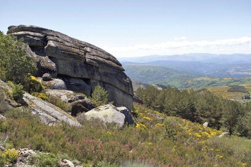 The Sierra De Bejar From La Muela