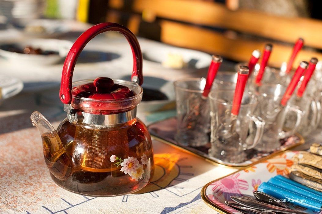 Peaks Of The Balkans  Tea At Kujtim Gocaj Guesthouse Ceremi Albania  Rudolf Abraham