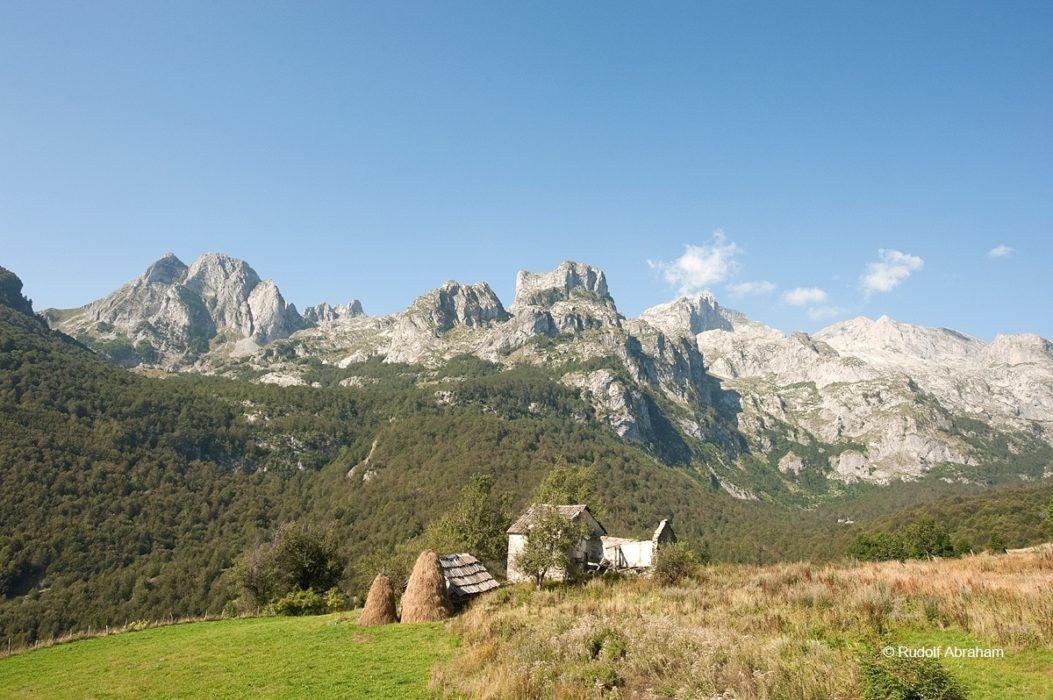 Peaks Of The Balkans  View Above The Village Of Ceremi Looking Towards Maja Kolata  Rudolf Abraham