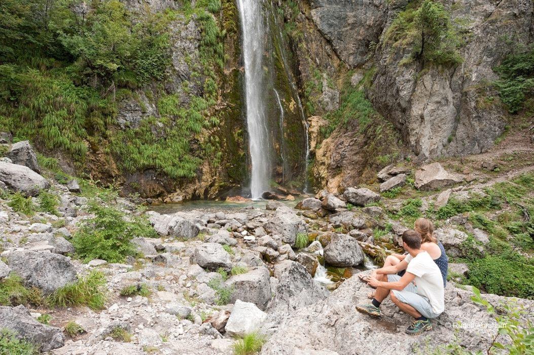Peaks Of The Balkans  Waterfall Near Theth Albania  Rudolf Abraham
