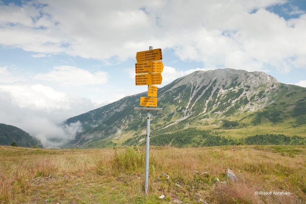 Peaks Of The Balkans  Zavoj Pass On The Border Between Montenegro And Kosovo  Rudolf Abraham