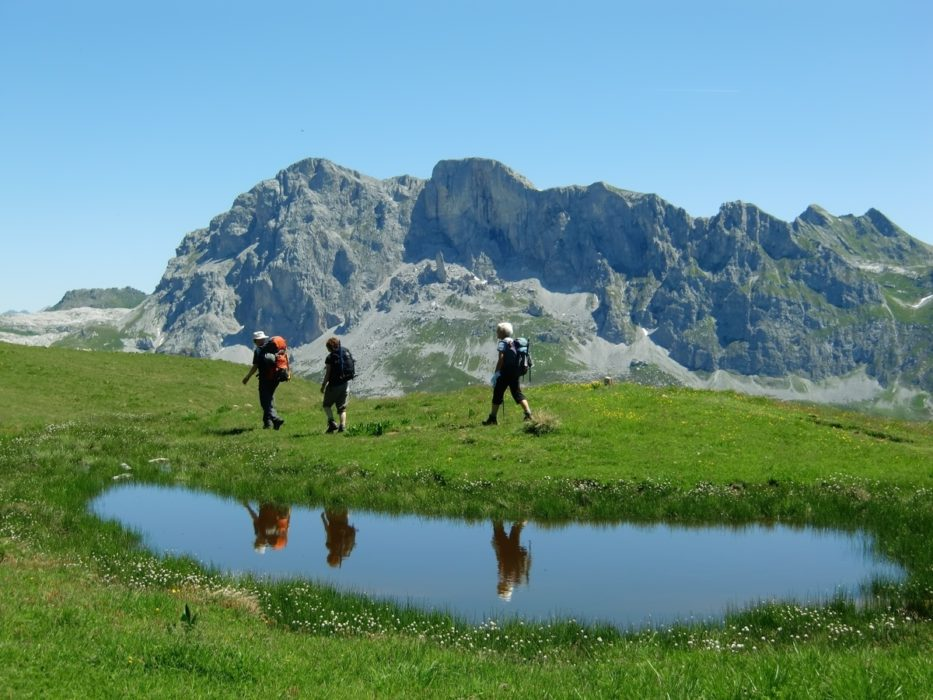 012 - Trekking in the Silvretta and Rätikon Alps
