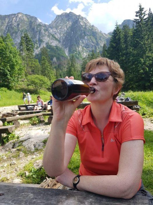 A nice cool Polish beer