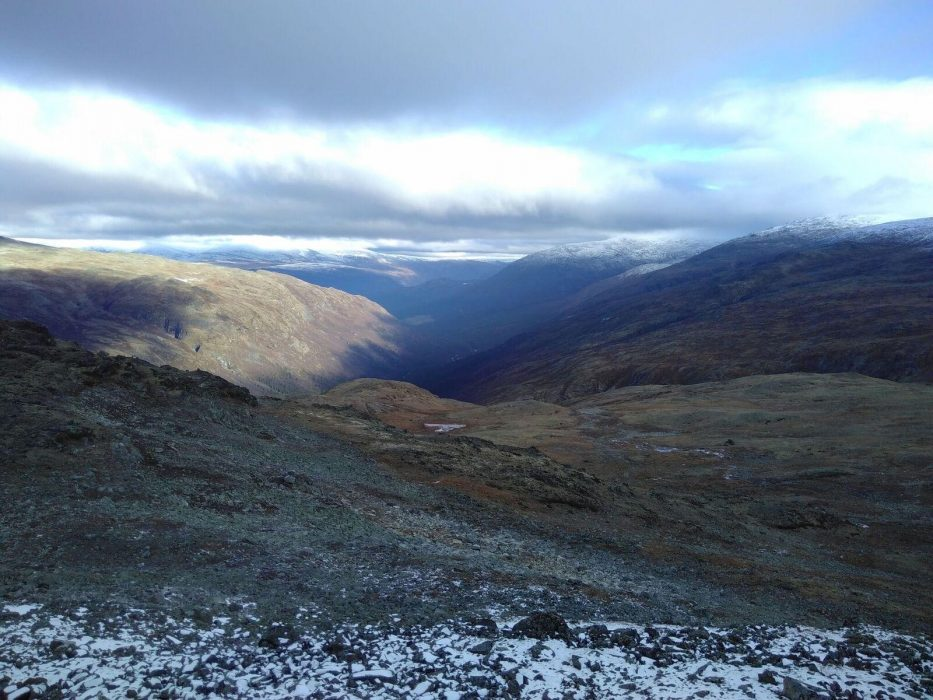 Visdalen From The Ascent Of Skauthoe