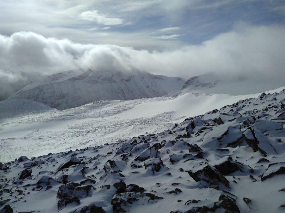 Bukkehoe Seen From The Ascent Of Galdhoppigen