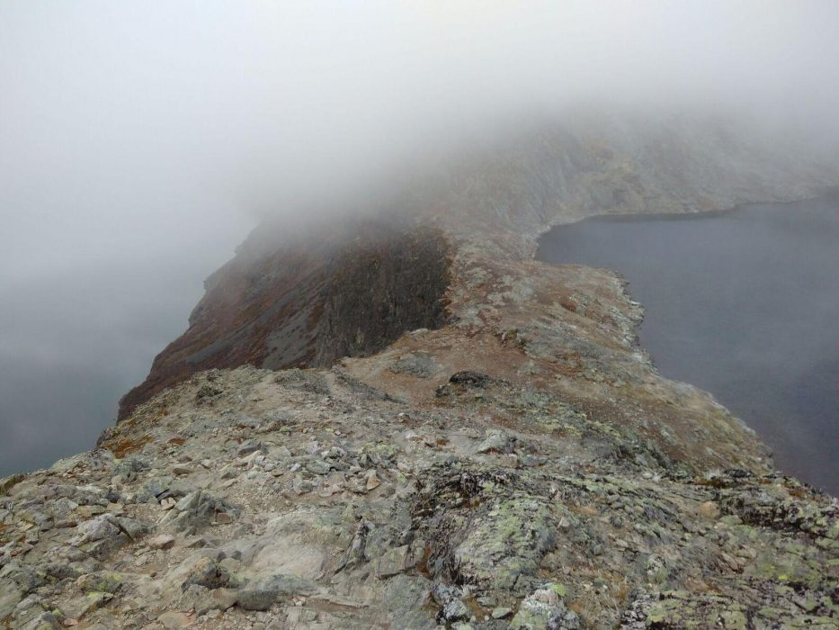 The Base Of The Besseggen Ridge At Bandet  Bessvatnet Is The Lake On The Right While Gjende Lies On The Left