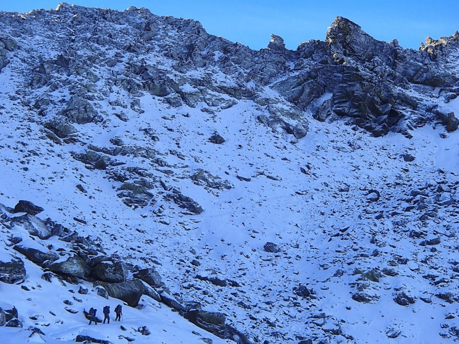 11 Starting The Traverse Below The Tajos De La Virgen Ridge