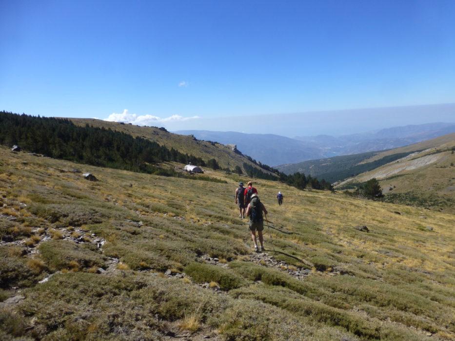 18 Nearing The Refugio Cebollar