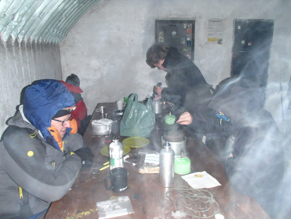 4 Evening Meal In The Deep Freeze