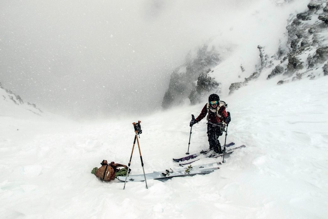 Sometimes there's even bad weather in the Dolomites