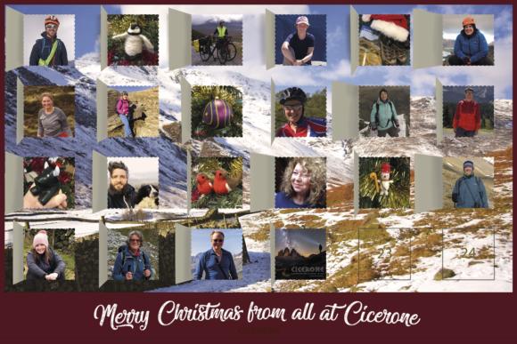 Cicerone Staff Christmas Card 2018
