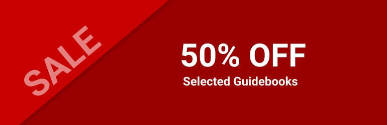 50% off selected books