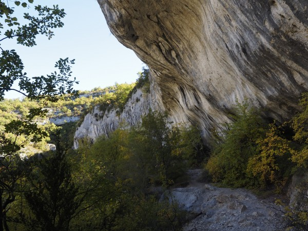 In the Gorges de la Nesque
