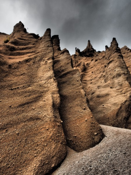 Lame Rosse pinnacles