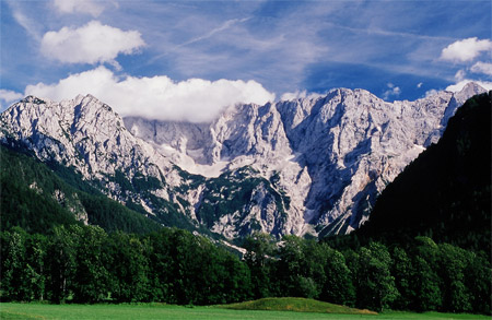 Slovenia is great for mountain biking, walking and trekking